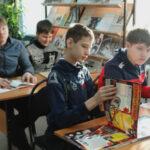Встреча с детьми Учись быть читателем