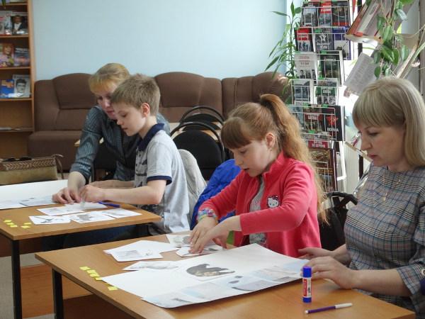 В библиотеке прошли мероприятия, посвящённые Дню семьи