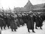 7 ноября – День воинской славы России. День проведения военного парада на Красной площади в городе Москва в ознаменование двадцать четвёртой годовщины Великой Октябрьской социалистической революции (1941г.)
