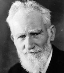 26 июля — 165 лет со дня рождения английского драматурга, писателя Джорджа Бернарда Шоу (1856-1950)